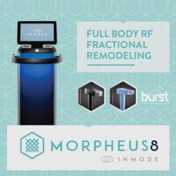 InMode Morpheus8 predstavlja najnovejšo, najsodobnejšo in najnaprednejšo radiofrekvenčno tehnologijo za zdravljenje kože in pomlajevanje videza.