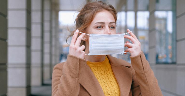 Zaščitne maske je potrebno redno menjati, in sicer na dve uri.